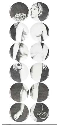 Fornasetti - Eve black-white