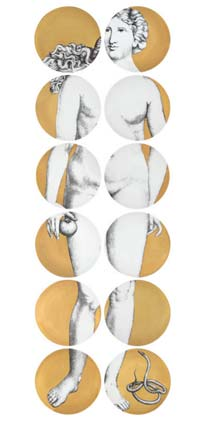 Fornasetti - Eve - gold